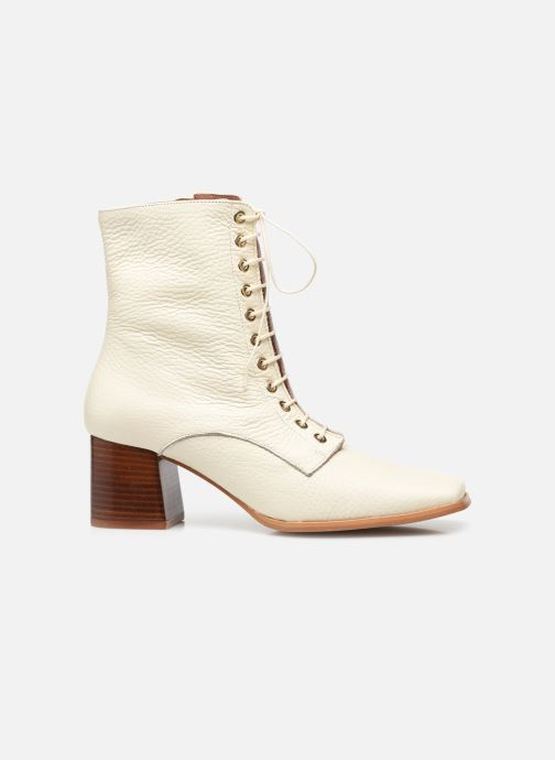 Boots en enkellaarsjes Made by SARENZA Modern 50's Boots #9 Wit detail