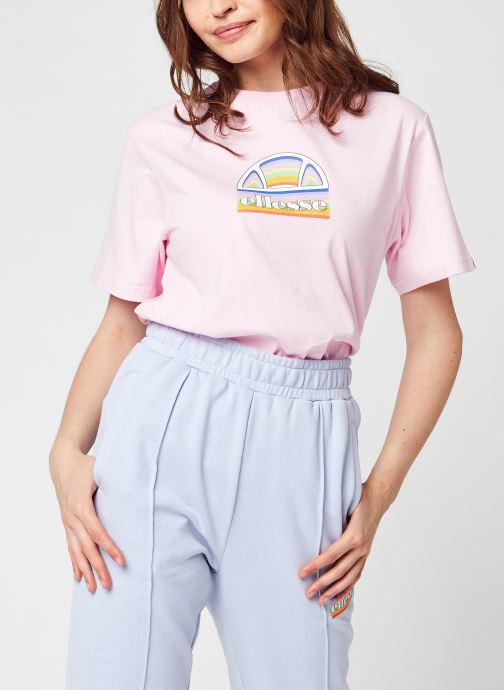 Abbigliamento Ellesse Tardi Tee Rosa vedi dettaglio/paio