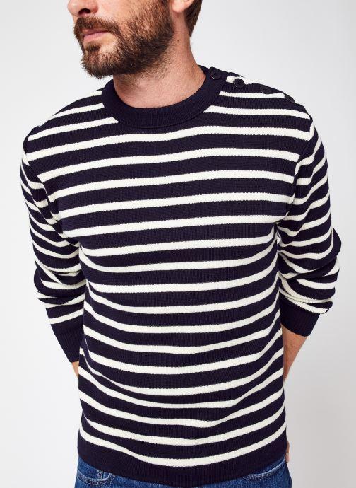 """Vêtements Accessoires Pull Marin Rayé """"Fouesnant"""" New"""