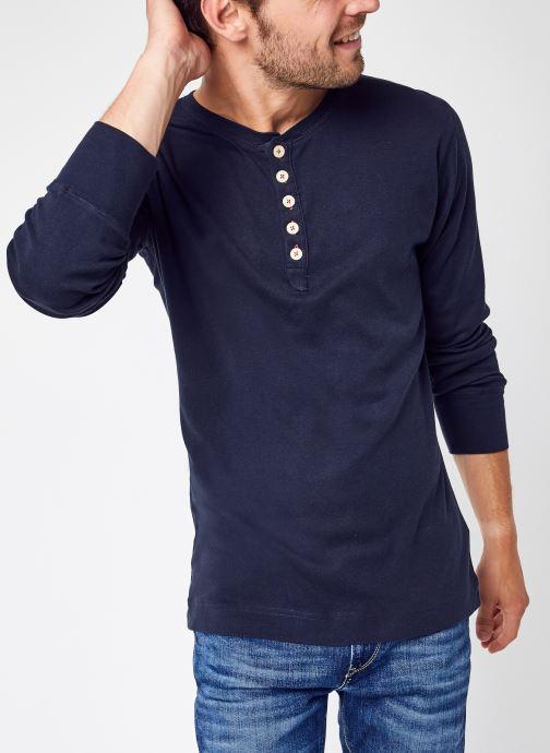 Vêtements Accessoires CEDAR LS Henley - GOTS/Vegan