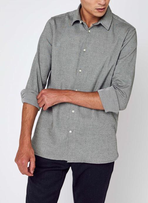 Kleding Accessoires LARCH casual fit heavy flannel shirt - GOTS/Vegan