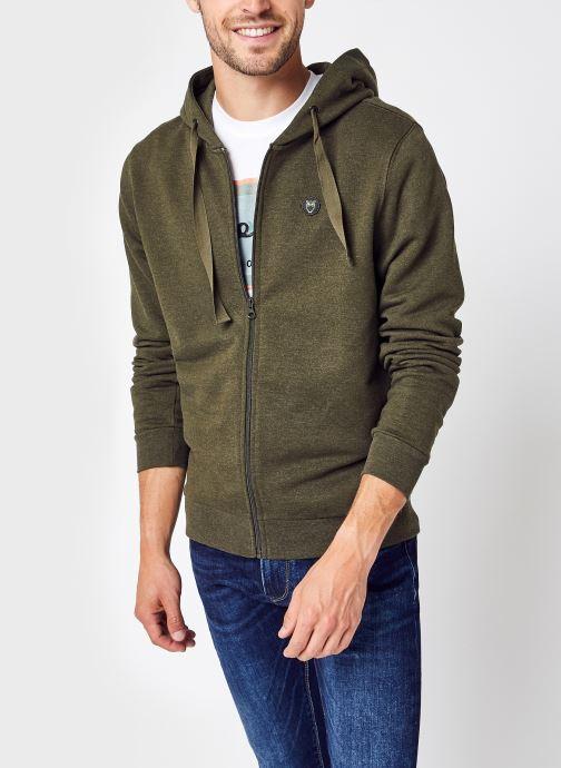 Vêtements Accessoires ELM zip hood basic badge sweat - GOTS/Vegan