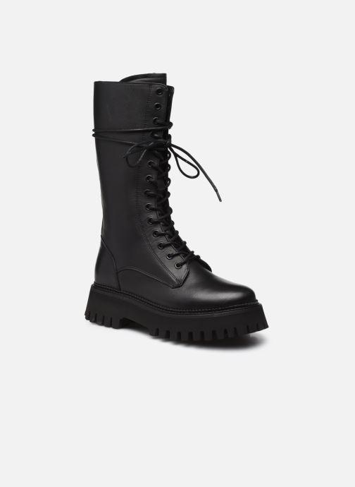 Boots en enkellaarsjes Bronx GROOV-Y 14215 Zwart detail
