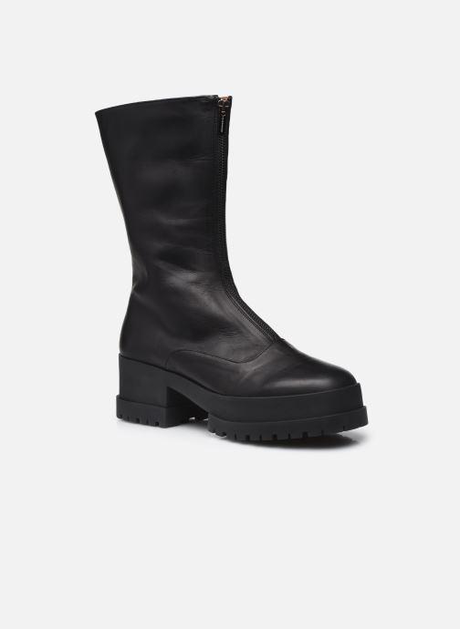 Boots en enkellaarsjes Clergerie Wallie 6 Zwart detail
