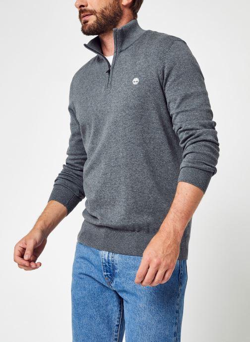 Vêtements Accessoires LS Williams River Cotton YD 1/4 Zip Sweater