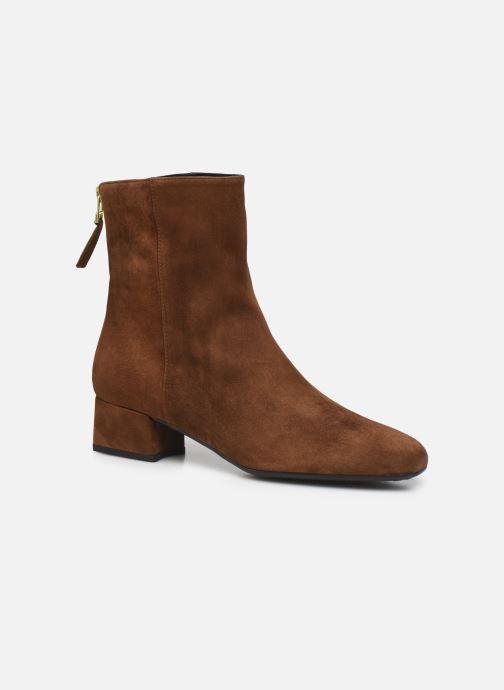 Boots en enkellaarsjes Pretty Ballerinas GAL 49623 Bruin detail