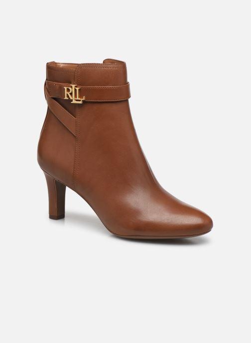 Bottines et boots Lauren Ralph Lauren ARIANNE Marron vue détail/paire