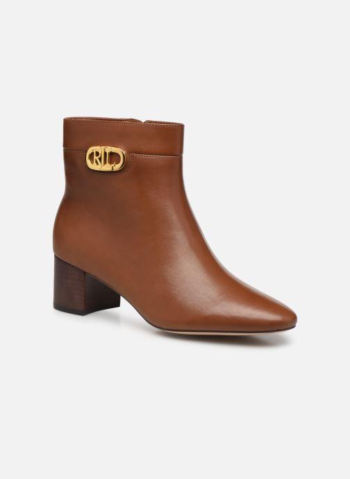 Boots en enkellaarsjes Lauren Ralph Lauren WYNNE Bruin detail