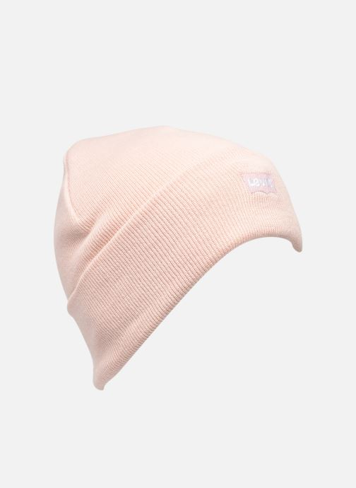 Mütze Levi's Women's Slouchy Beanie - Tonal Batwing rosa detaillierte ansicht/modell