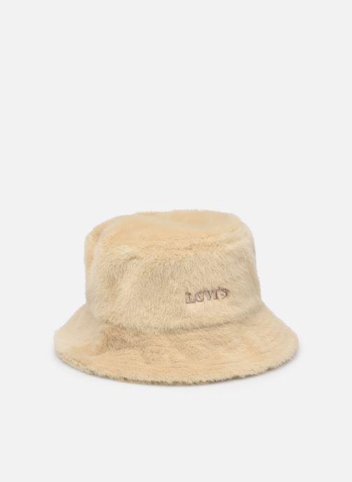 Chapeaux Levi's Women's Cozy Bucket Hat Beige vue détail/paire