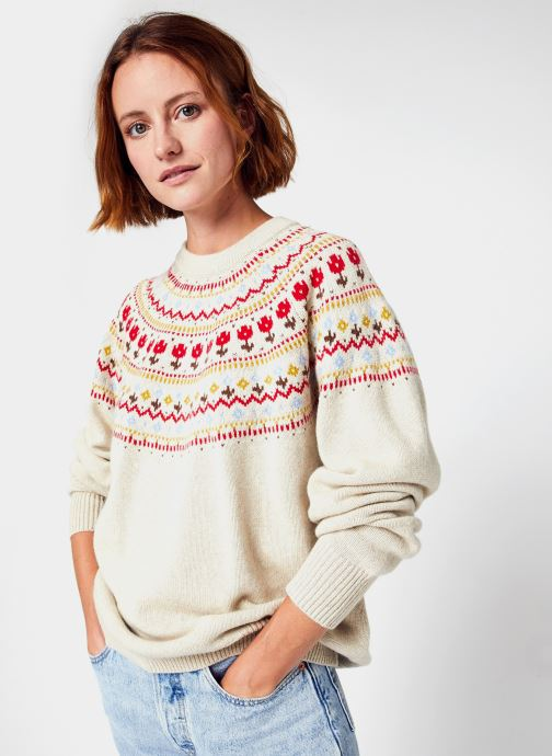 Kleding Accessoires Slouchy Crewneck Sweater