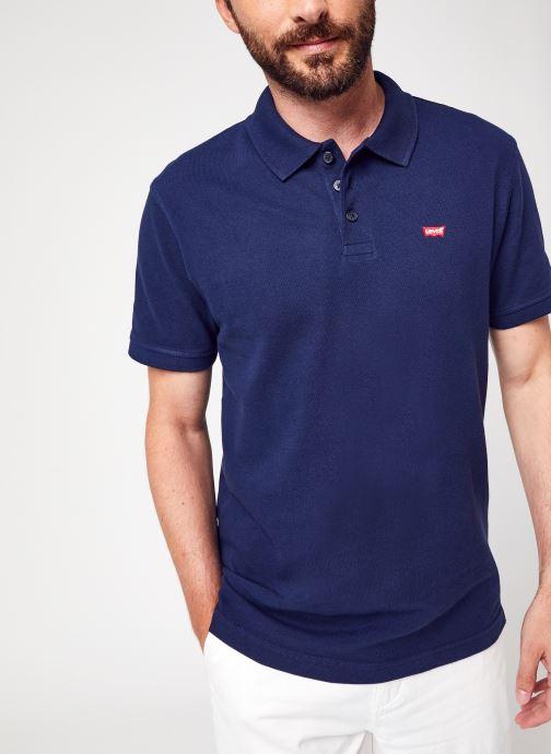 Vêtements Levi's New Levis Hm Polo Bleu vue détail/paire