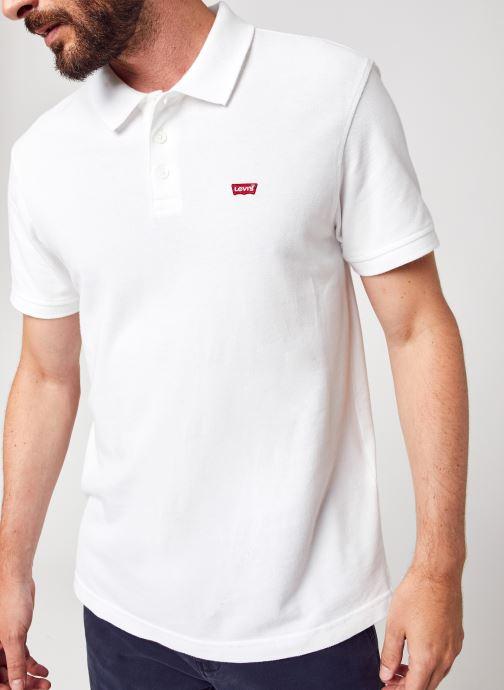 Vêtements Levi's New Levis Hm Polo Blanc vue détail/paire