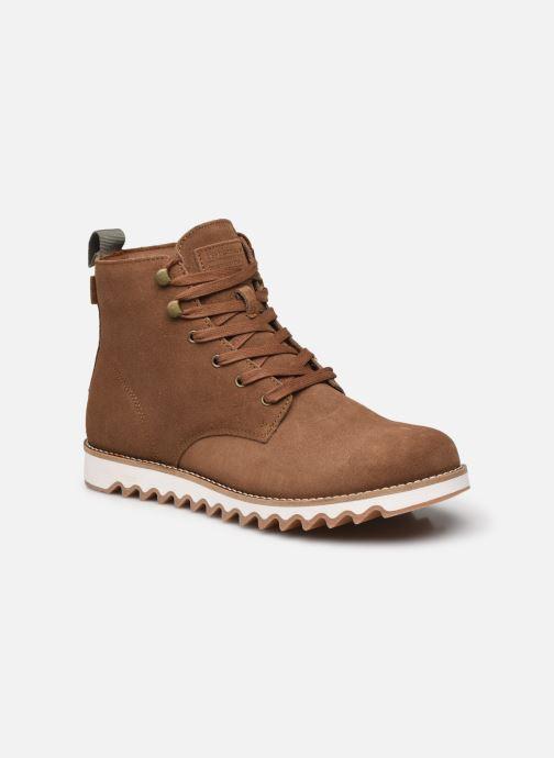 Bottines et boots Levi's Berg  Boot Ripple Marron vue détail/paire