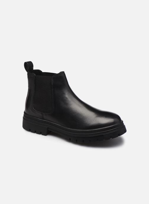 Boots en enkellaarsjes Levi's Arjun Chelsea Zwart detail