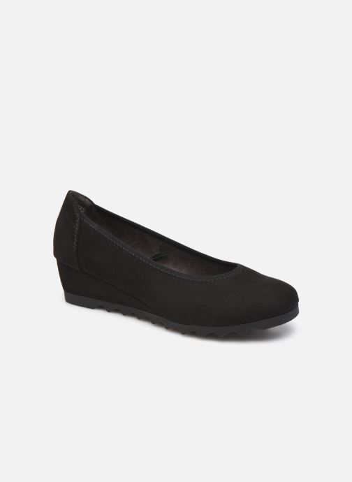 Ballerines Jana shoes Izia Noir vue détail/paire