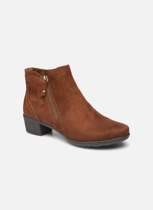 Bottines et boots Jana shoes Nattie Marron vue détail/paire