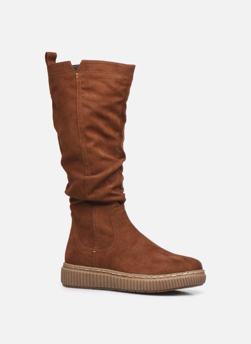 Bottes Jana shoes Séra Marron vue détail/paire