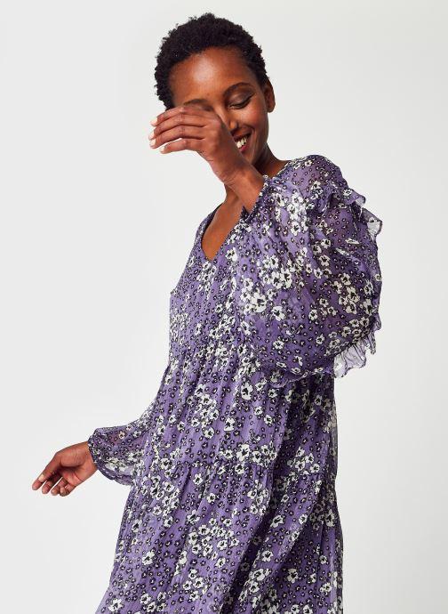 Vêtements IKKS Women BT30025 Violet vue détail/paire