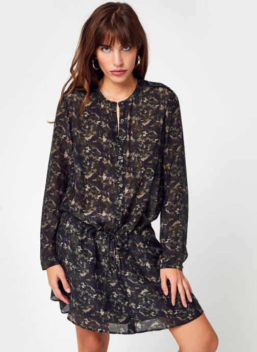 Vêtements IKKS Women BT30435 Vert vue détail/paire