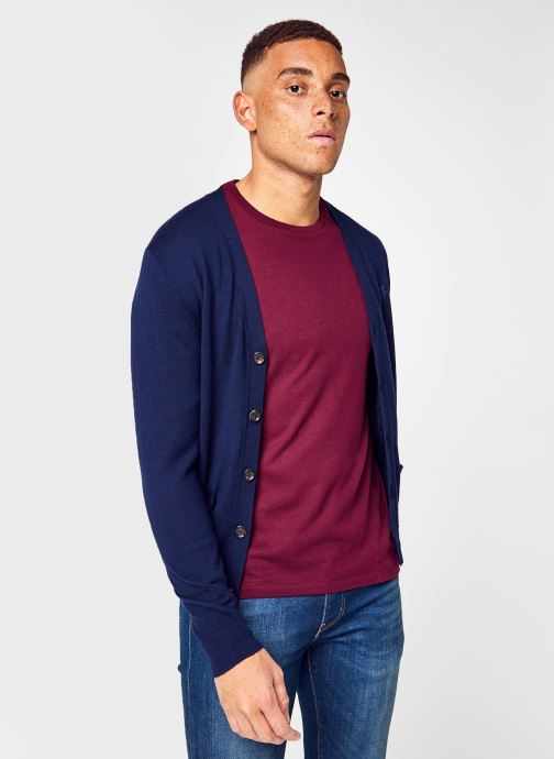 Tøj Accessories Ls Sf Vn Crd Long Sleeve Sweater