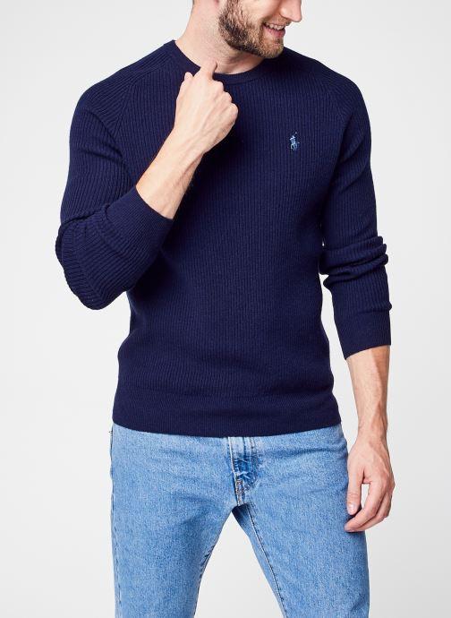 Kleding Accessoires Ls Rib Cn Long Sleeve Sweater