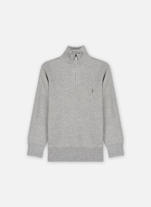 Ropa Polo Ralph Lauren Ls Hz-Sweater-Pullover Gris vista de detalle / par