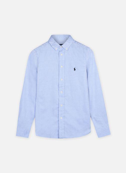 Ropa Polo Ralph Lauren Slim Fit-Tops-Shirt Azul vista de detalle / par
