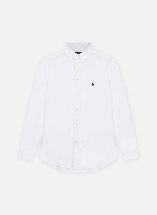 Kleding Polo Ralph Lauren Slim Fit-Tops-Shirt Wit detail