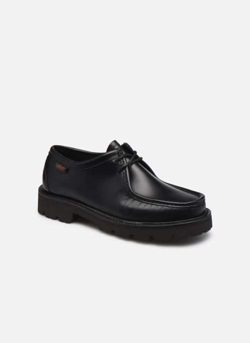 Zapatos con cordones G.H. Bass Ranger Moc Wallace Negro vista de detalle / par