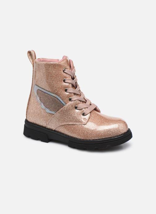 Stiefeletten & Boots Conguitos LI1 305 10 rosa detaillierte ansicht/modell