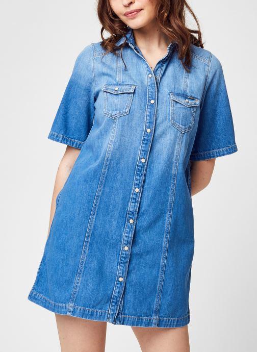 Kleding Pepe jeans Holly Blauw detail