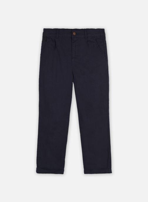 Kleding Accessoires Pantalon en lin et coton droit