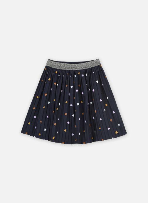 Vêtements Monoprix Kids Jupe plissée en jersey Bleu vue détail/paire
