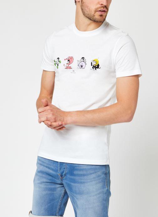 Kleding Accessoires Mens Slim Fit Tshirt 4 Monkies