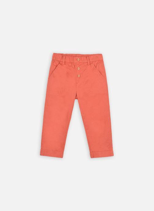 Kleding Bout'Chou Pantalon uni OEKOTEX Oranje detail