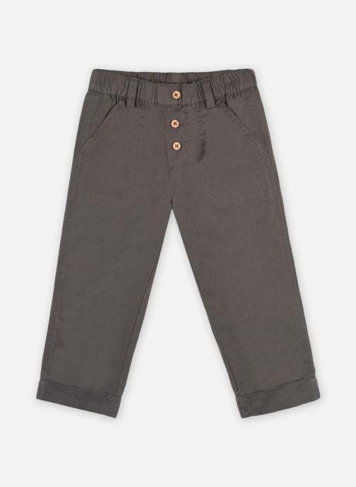 Kleding Bout'Chou Pantalon uni OEKOTEX Grijs detail