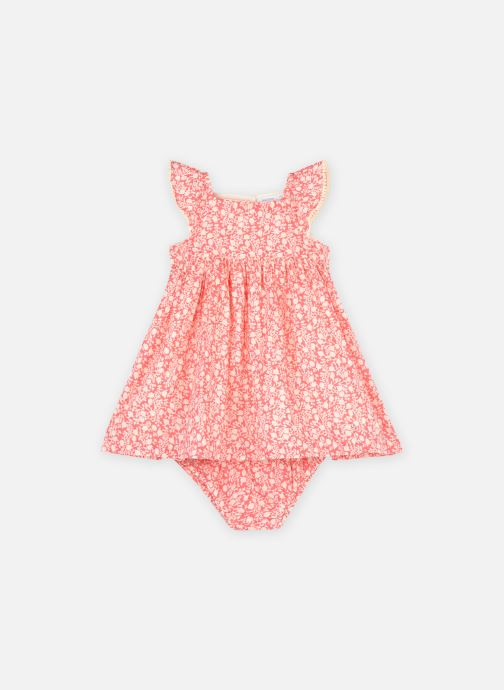 Kleding Bout'Chou Robe imprimée à bloomer Roze detail