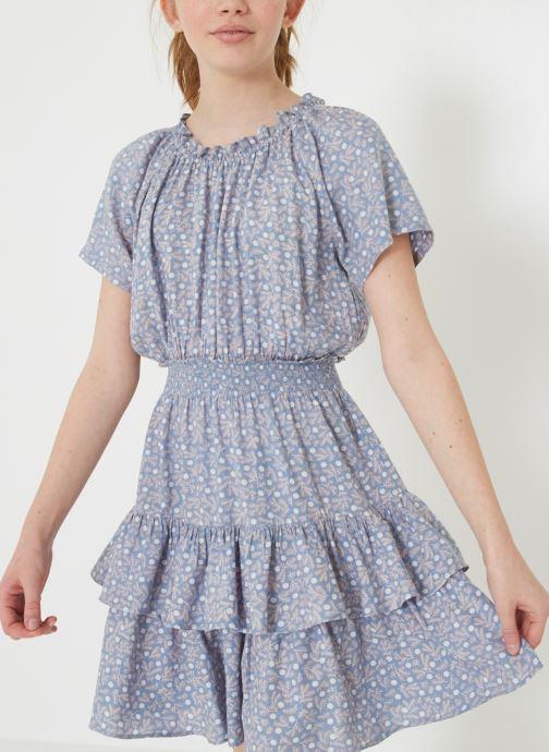 Vêtements Monoprix Kids Robe à volants Bleu vue détail/paire