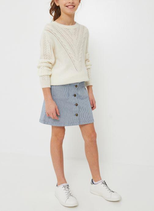 Vêtements Monoprix Kids Jupe en jean Bleu vue détail/paire