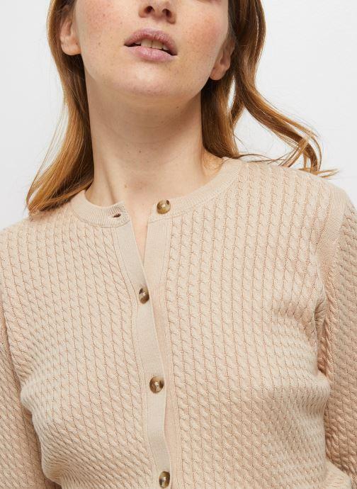 Kleding Accessoires Cardigan manches longues avec torsades