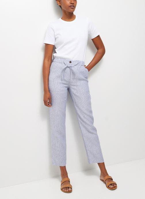Abbigliamento Accessori Jogging rayé en lin poches cargo