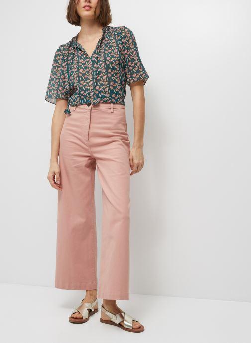 Abbigliamento Accessori Pantalon taille haute raccourcis