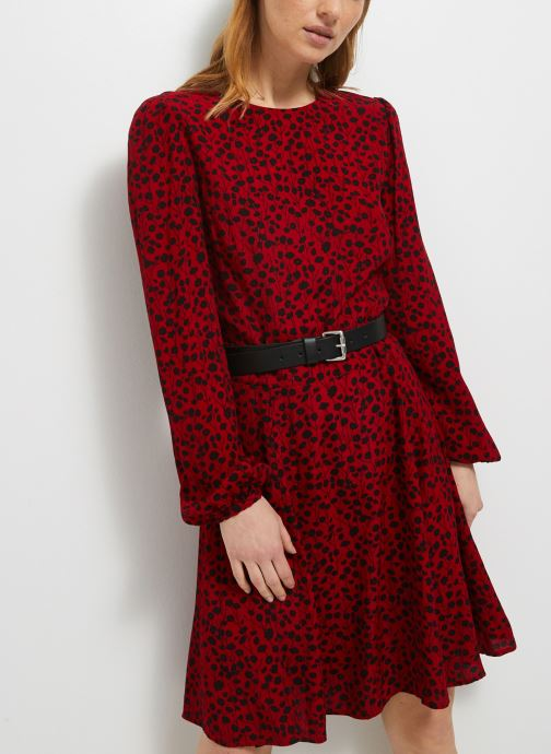 Tøj Accessories Robe courte col rond imprimé floral