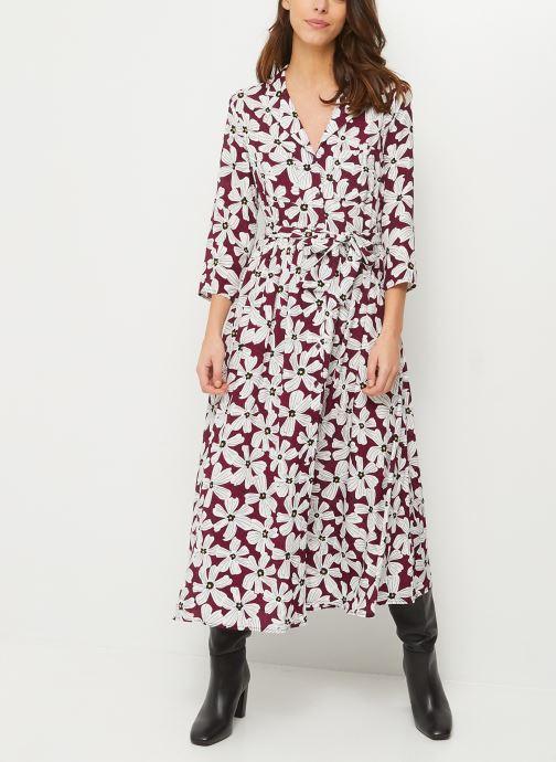 Kleding Accessoires Robe chemise longue imprimé floral