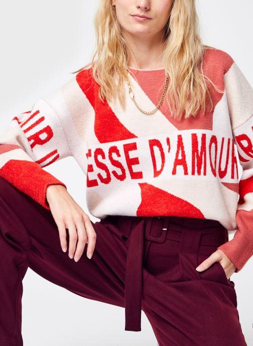 Vêtements Suncoo Picasi Rouge vue détail/paire