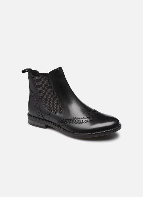 Boots en enkellaarsjes Marco Tozzi Sélina Zwart detail