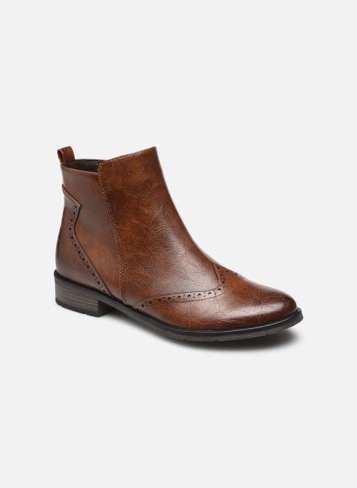 Bottines et boots Marco Tozzi Noelya Marron vue détail/paire