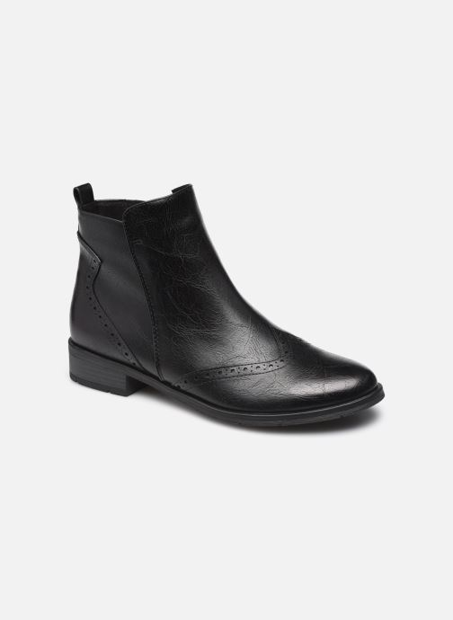 Boots en enkellaarsjes Marco Tozzi Noelya Zwart detail