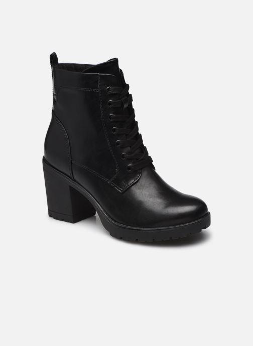 Bottines et boots Marco Tozzi Blua Noir vue détail/paire